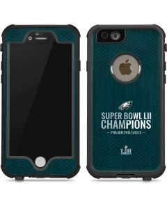Philadelphia Eagles Super Bowl LII Champions iPhone 6/6s Waterproof Case