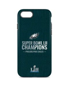 Philadelphia Eagles Super Bowl LII Champions iPhone 8 Pro Case