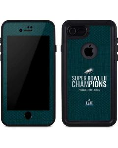 Philadelphia Eagles Super Bowl LII Champions iPhone 8 Waterproof Case