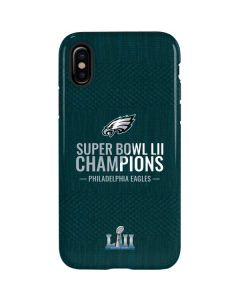 Philadelphia Eagles Super Bowl LII Champions iPhone X Pro Case