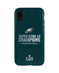 Philadelphia Eagles Super Bowl LII Champions iPhone XR Pro Case