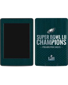 Philadelphia Eagles Super Bowl LII Champions Amazon Kindle Skin