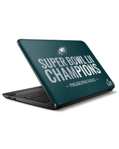 Philadelphia Eagles Super Bowl LII Champions HP Notebook Skin