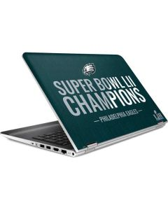Philadelphia Eagles Super Bowl LII Champions HP Pavilion Skin