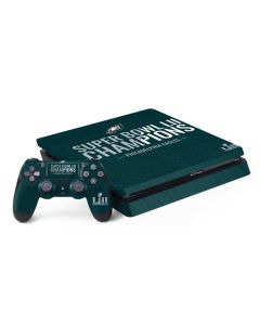 Philadelphia Eagles Super Bowl LII Champions PS4 Slim Bundle Skin