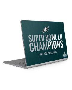 Philadelphia Eagles Super Bowl LII Champions Surface Book 2 15in Skin