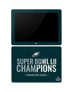 Philadelphia Eagles Super Bowl LII Champions Surface Go Skin