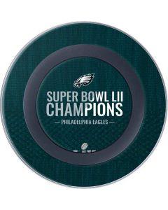 Philadelphia Eagles Super Bowl LII Champions Wireless Charger Skin