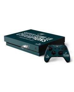 Philadelphia Eagles Super Bowl LII Champions Xbox One X Bundle Skin