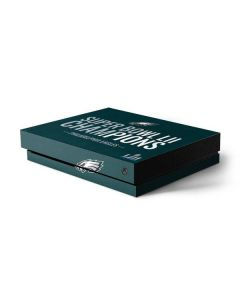 Philadelphia Eagles Super Bowl LII Champions Xbox One X Console Skin
