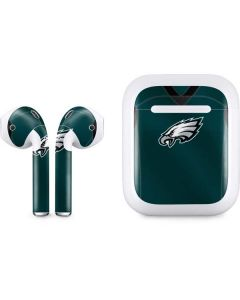 Philadelphia Eagles Team Jersey Apple AirPods Skin