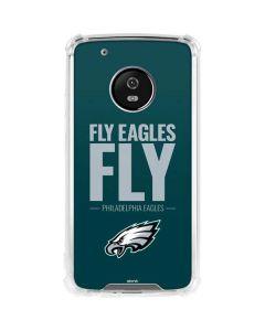 Philadelphia Eagles Team Motto Moto G5 Plus Clear Case