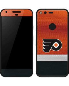 Philadelphia Flyers Alternate Jersey Google Pixel Skin
