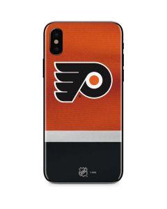 Philadelphia Flyers Alternate Jersey iPhone XS Skin