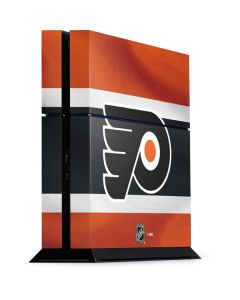 Philadelphia Flyers Alternate Jersey PS4 Console Skin