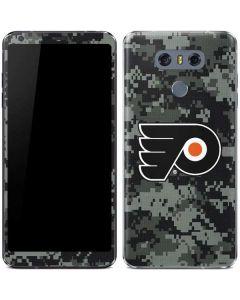 Philadelphia Flyers Camo LG G6 Skin