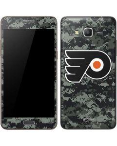 Philadelphia Flyers Camo Galaxy Grand Prime Skin