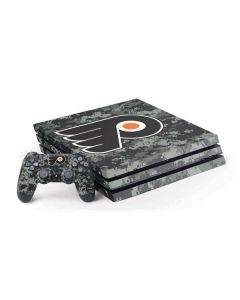 Philadelphia Flyers Camo PS4 Pro Bundle Skin