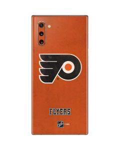 Philadelphia Flyers Distressed Galaxy Note 10 Skin