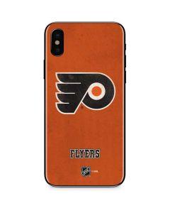 Philadelphia Flyers Distressed iPhone XS Skin