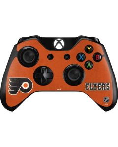 Philadelphia Flyers Distressed Xbox One Controller Skin