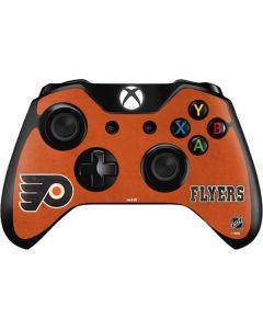 Philadelphia Flyers Distressed Xbox One Controller Skin