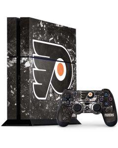 Philadelphia Flyers Frozen PS4 Console and Controller Bundle Skin