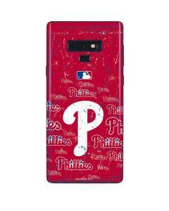 Philadelphia Phillies - Cap Logo Blast Galaxy Note 9 Skin