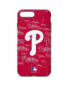 Philadelphia Phillies - Cap Logo Blast iPhone 7 Plus Pro Case