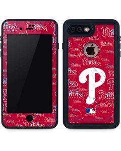 Philadelphia Phillies - Cap Logo Blast iPhone 8 Plus Waterproof Case