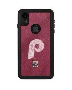 Philadelphia Phillies - Cooperstown Distressed iPhone XR Waterproof Case