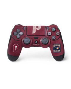 Philadelphia Phillies - Cooperstown Distressed PS4 Controller Skin