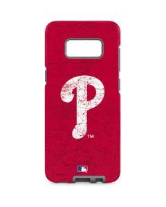 Philadelphia Phillies - Solid Distressed Galaxy S8 Pro Case