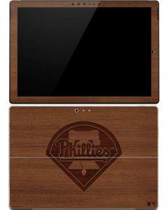 Philadelphia Phillies Engraved Surface Pro (2017) Skin
