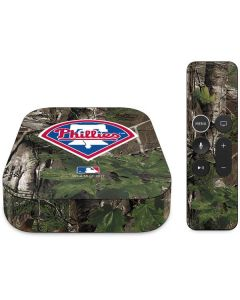 Philadelphia Phillies Realtree Xtra Green Camo Apple TV Skin
