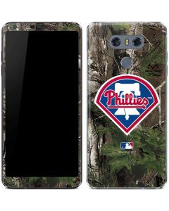 Philadelphia Phillies Realtree Xtra Green Camo LG G6 Skin