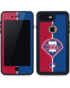 Philadelphia Phillies Split iPhone 8 Plus Waterproof Case