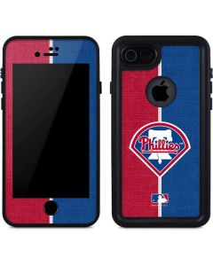 Philadelphia Phillies Split iPhone 8 Waterproof Case