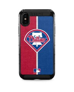 Philadelphia Phillies Split iPhone XS Max Cargo Case