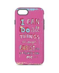 Philippians 4:13 Pink iPhone 7 Pro Case
