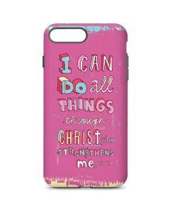 Philippians 4:13 Pink iPhone 8 Plus Pro Case
