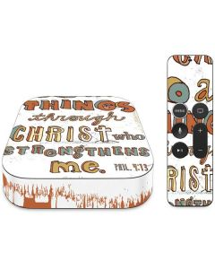 Philippians 4:13 White Apple TV Skin
