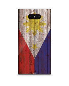 Philippines Flag Dark Wood Razer Phone 2 Skin