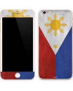 Philippines Flag Distressed iPhone 6/6s Plus Skin