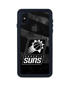 Phoenix Suns Black Animal Print iPhone XS Waterproof Case
