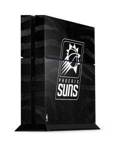 Phoenix Suns Black Animal Print PS4 Console Skin
