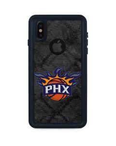 Phoenix Suns Dark Rust iPhone XS Waterproof Case