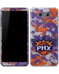 Phoenix Suns Digi Camo LG G6 Skin