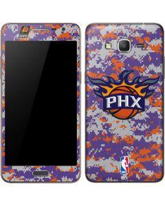Phoenix Suns Digi Camo Galaxy Grand Prime Skin