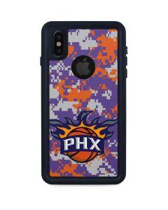 Phoenix Suns Digi Camo iPhone XS Waterproof Case